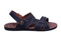 Мужские кожаные сандалии  Bonis Original Blue, фото 1
