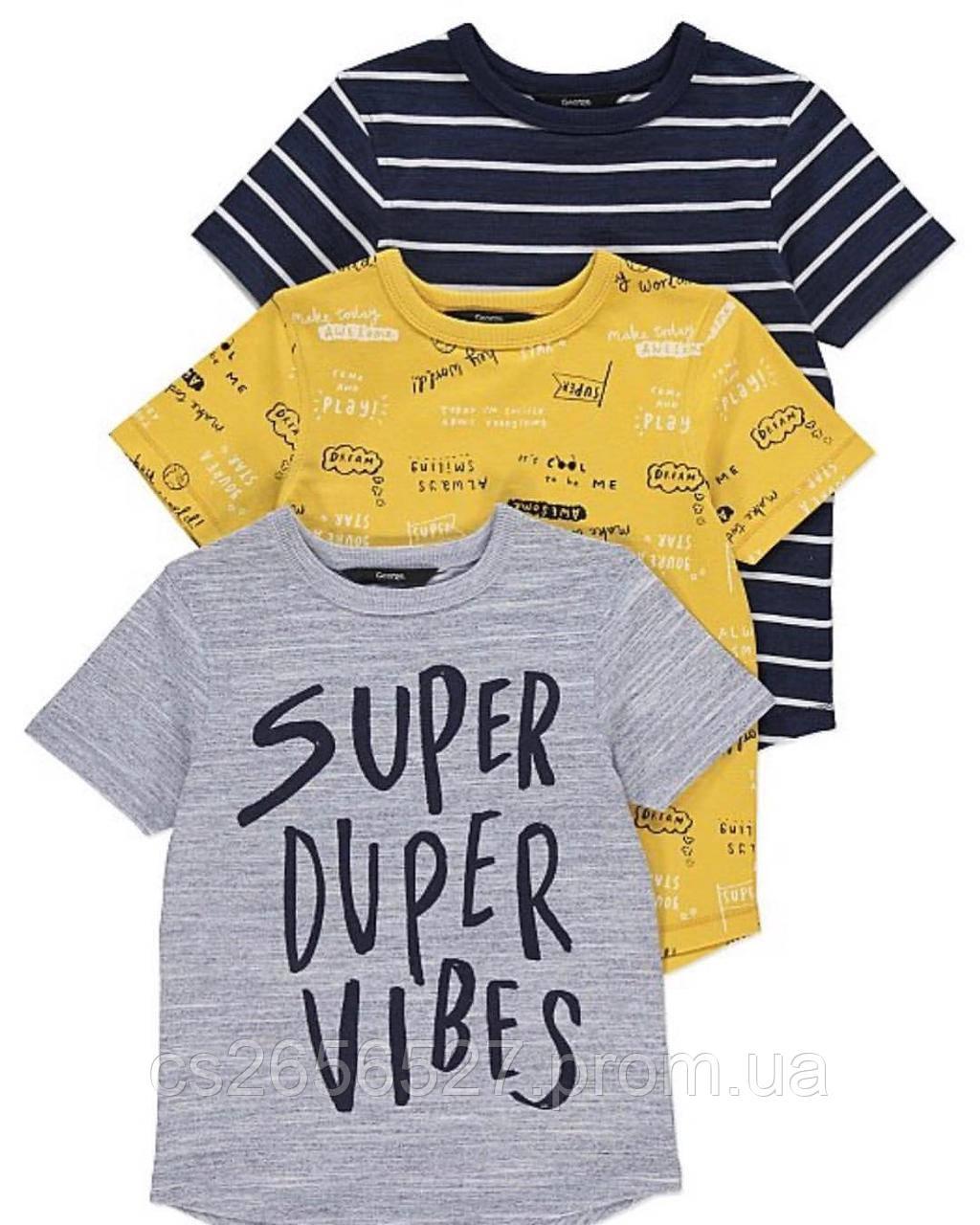 Детская фирменная футболка