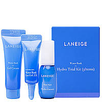 Набор увлажняющей косметики Laneige Water Bank Moisture 3 Kit миниатюры