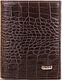 Вместительное мужское кожаное портмоне CANPELLINI SHI505 коричневый, фото 2