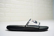 "Сланцы Nike Benassi x Off-White Casual Slipper Sandals  ""Черные"", фото 2"