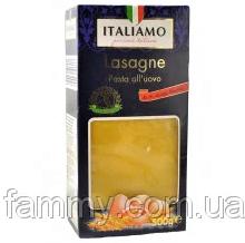 Макаронные изделия Italiamo Lasagne пластины для лазаньи 500 г