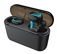 """Наушники беспроводные Bluetooth HI-FI Q32 """"TWS"""" + Power Bank"""""""