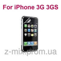 Защитная пленка для Apple iPhone 3 глянцевая на переднюю часть