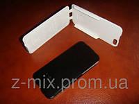 Кожаный чехол 5 iphone стильный, удобный