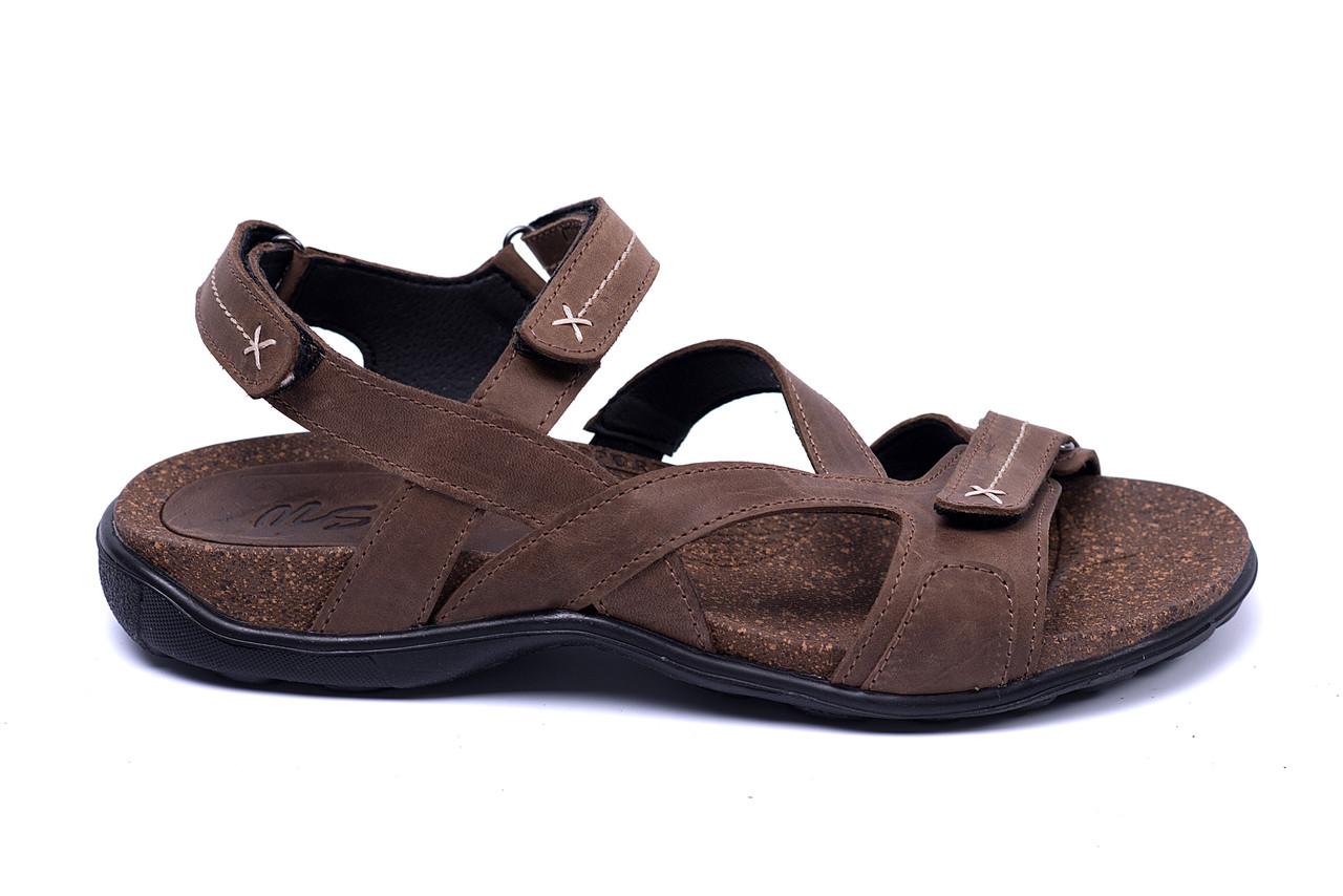 Мужские кожаные сандалии  StepWey Original Olive, фото 1