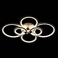 Светодиодная (LED) люстра Прометей белая P5-Y1163/6/WT