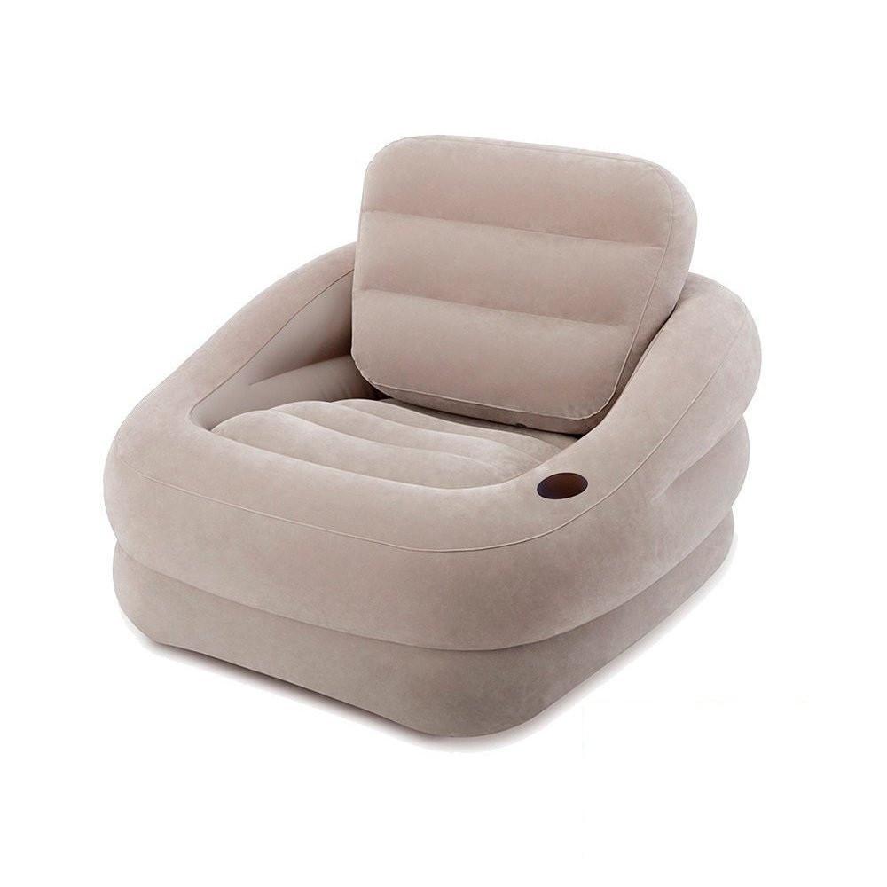 Надувное кресло Intex 68587 Бежевое
