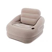 Надувное кресло Intex 68587 Бежевое, фото 1