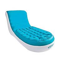 Велюровое кресло лежак Intex 68880, фото 1