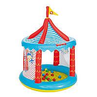 Надувной игровой домик Bestway 93505 «Цирк» с шариками 25 шт