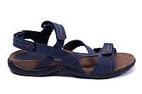 Мужские кожаные сандалии  StepWey Original Blue, фото 1