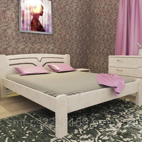 Ліжко Сміф Трембіта з натурального дерева