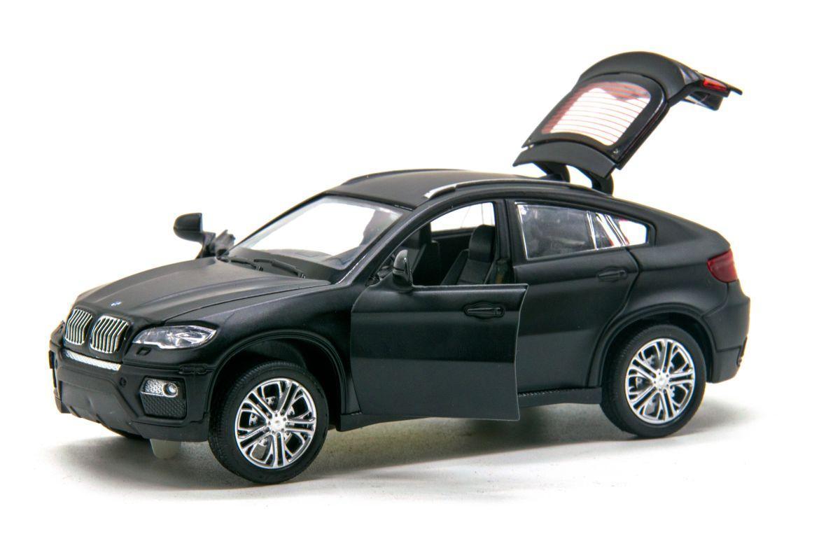 Машинка металлическая BMW X6 MY66-060 со светом и звуком