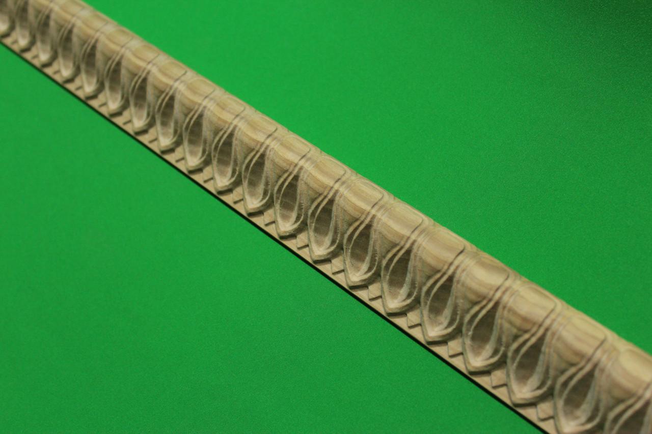 Код Обклад 3. Деревянный резной декор для мебели, молдинг, багет, обклад, фото 1