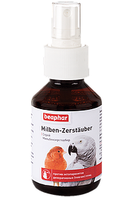 Beaphar Milben-Zerstauber Спрей для птиц от кожных паразитов, 100 мл
