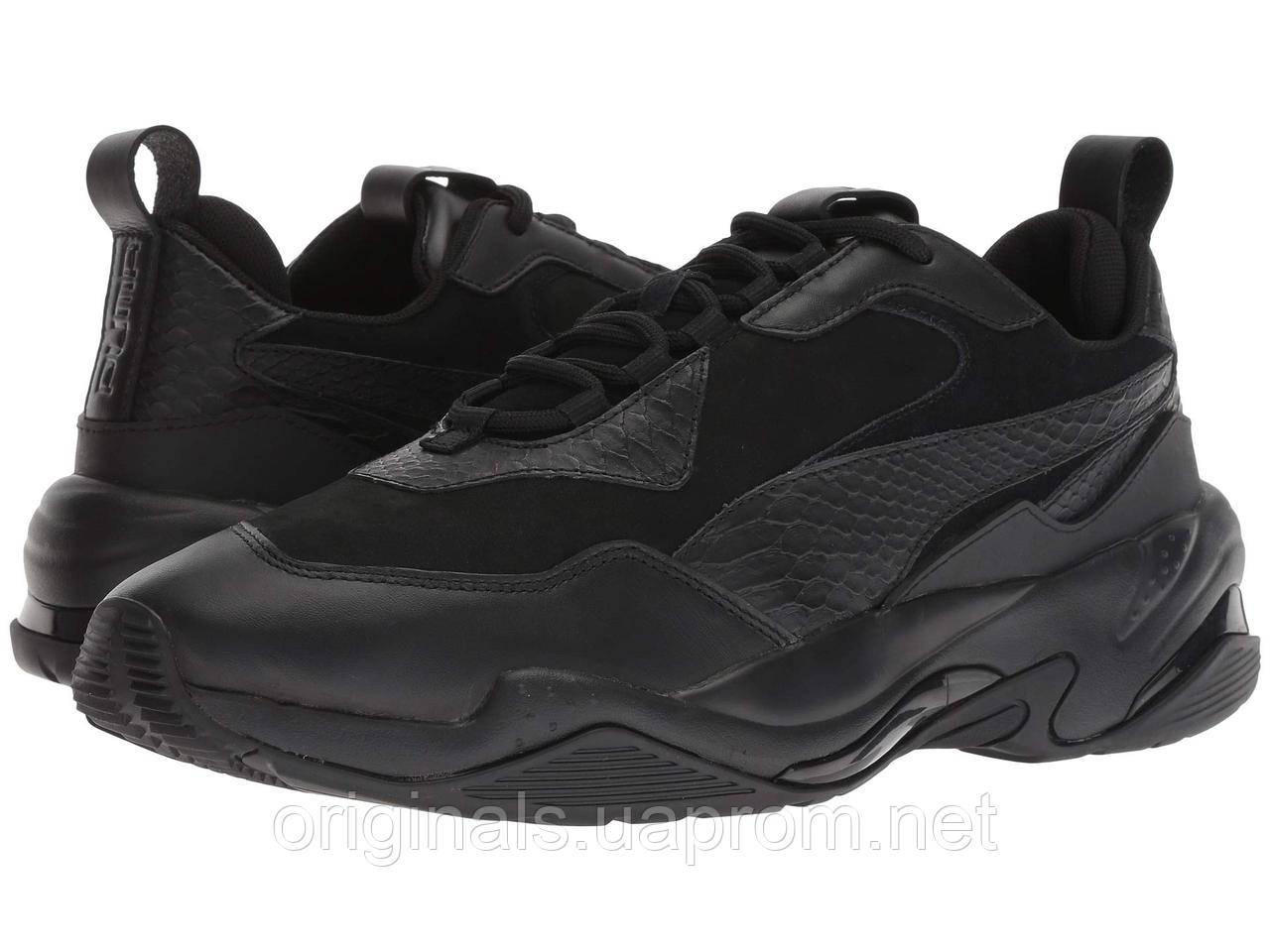 Мужские кроссовки Puma Thunder Desert в черном цвете
