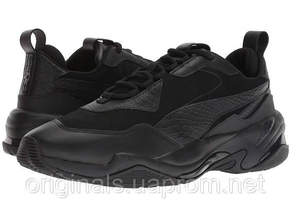 Мужские кроссовки Puma Thunder Desert в черном цвете, фото 2