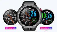 Умные часы Smart Watch Lemfo LEM9 Gray 1/16gb 4G IP67 камера 5МП 600мАч, фото 4