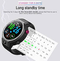Умные часы Smart Watch Lemfo LEM9 Gray 1/16gb 4G IP67 камера 5МП 600мАч, фото 5
