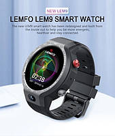 Умные часы Smart Watch Lemfo LEM9 Gray 1/16gb 4G IP67 камера 5МП 600мАч, фото 6