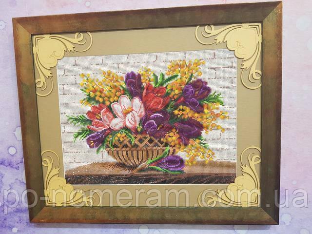 алмазная вышивка готовые работы фото с цветами