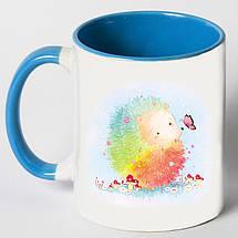 """Чашка """"Цветной ёжик"""", фото 3"""
