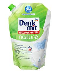 Экологичный гель для стирки белого и светлого белья  Denkmit Nature