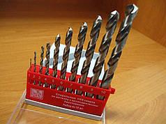 Набір свердел по металу Haisser 1-10 mm