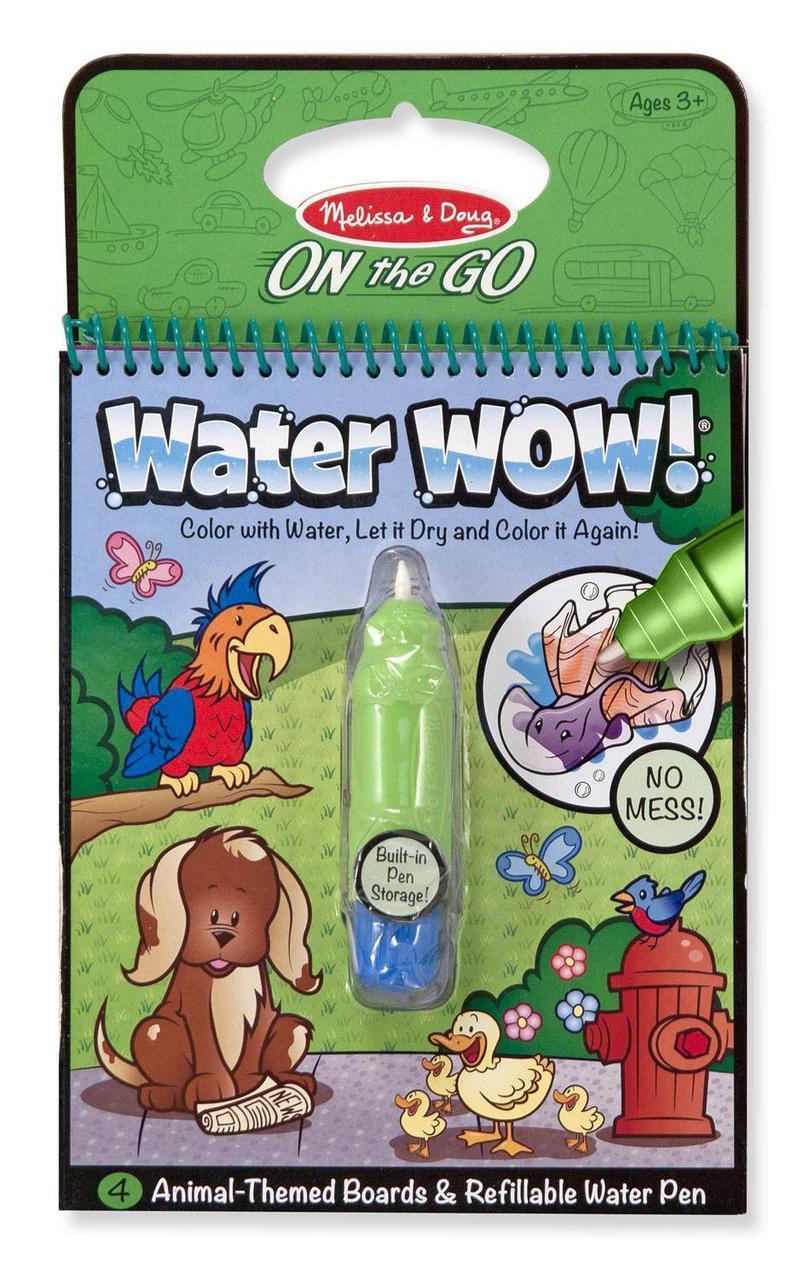 """Чарівна водна розмальовка """"Тварини"""" Melіssa & Doug MD15376"""