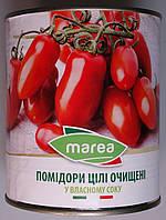 Помідори цілі очищені Marea у власному соку (Whole Peeled Tomatoes) Пелаті 800 г