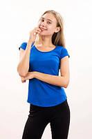🌺 Футболка женская хлопковая с карманом, фото 1