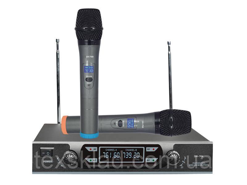 Беспроводные микрофоны MAX DH-769