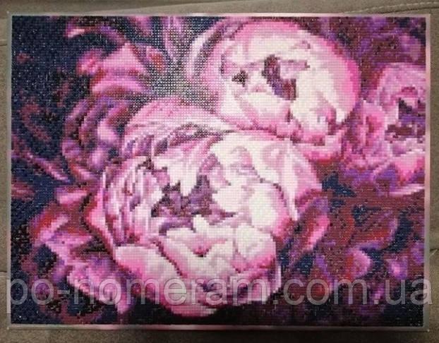 Идейка алмазная вышивка фото картины с пионами