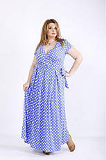 Платье женское летнее в пол, размер:42-74, фото 3