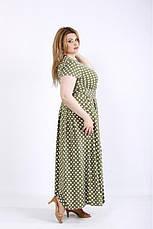 Платье женское летнее в пол, размер:42-74, фото 2