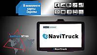 Навигатор Android GPS NaviTruck NT740i для грузового транспорта 2019