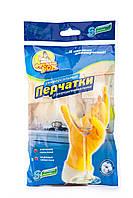 Перчатки ФРЕКЕН  БОК  резиновые для  мытья посуды S, 12шт/упак