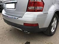 Бампер задний Mercedes GL, X164, 2007, A1648852825