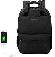 Городской рюкзак Tigernu T-B3508 для ноутбука 15.6 дюймов, черный, фото 2