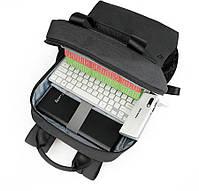 Городской рюкзак Tigernu T-B3508 для ноутбука 15.6 дюймов, черный, фото 5