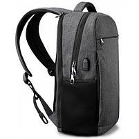 Городской рюкзак Tigernu T-B3217 в урбанистическом стиле, черный, фото 6