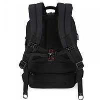 Эффектный городской рюкзак Tigernu T-B3220 черный, фото 3