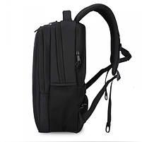 Эффектный городской рюкзак Tigernu T-B3220 черный, фото 4