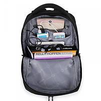 Эффектный городской рюкзак Tigernu T-B3220 черный, фото 5