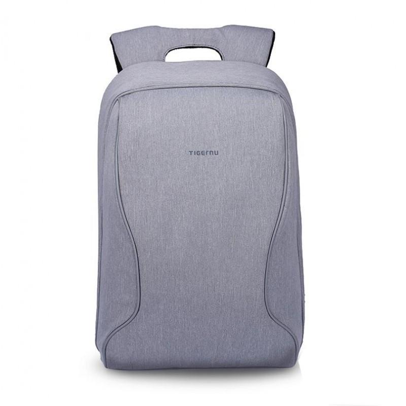 """Стильный городской рюкзак Tigernu T-B3188 17"""" серебристо-серый"""