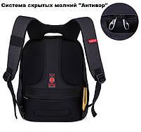"""Стильный городской рюкзак Tigernu T-B3188 17"""" серебристо-серый, фото 3"""