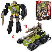 Детский металлический робот Трансформер танк игрушка для мальчика
