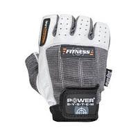 Перчатки для зала Power system Fitness PS-2300 Серо-белый, L