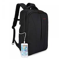 """Удобный рюкзак для ноутбука Tigernu T-B3188А 17"""" Черный, фото 2"""